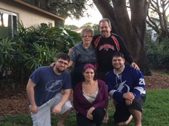 Rose Pietras with family